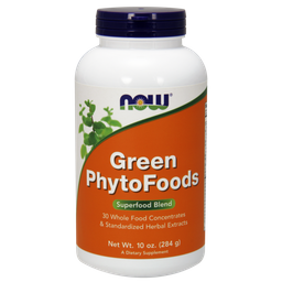 NOW Green PhytoFoods, порошок, 284 г, 1 шт.
